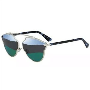 Christian Dior SO REAL A 3YG GoldSilver Blue Green